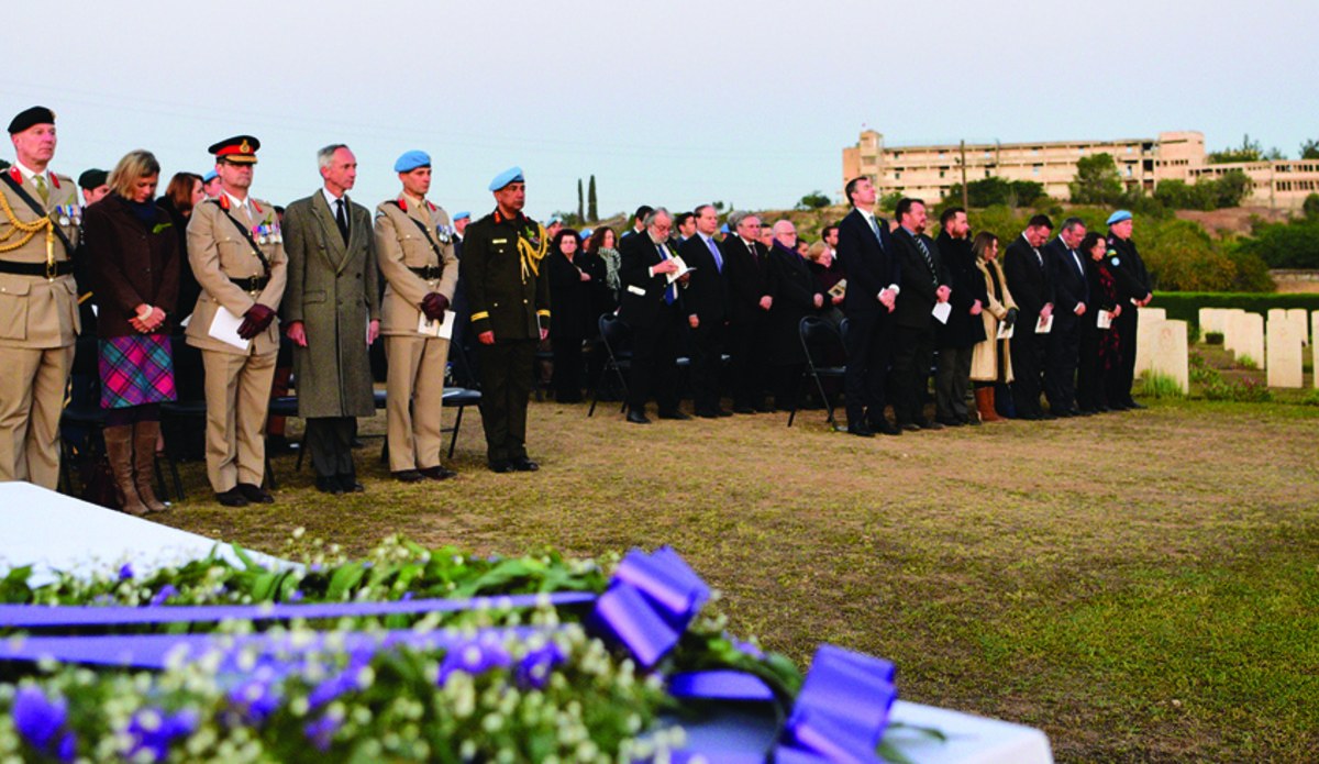 Dawn ceremony marks ANZAC Day as Australian Police prepare to depart Cyprus