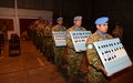 UNFICYP holds annual Winter Medal Parade