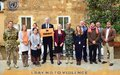 UNFICYP joins global calls to end violence against women