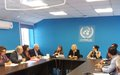 SRSG Spehar meets Bi-Communal Initiative for Peace-UNITED CYPRUS